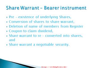 Warrant bearer instrument Copyright: Aishwarya Mohan Gahrana