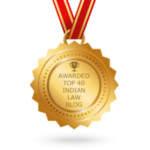 Among Top 40 Indian Law Blogs